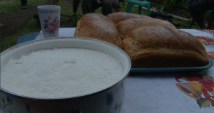 Cassava flour and bread
